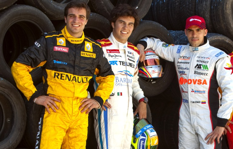D'Ambrosio Perez Maldonado GP2