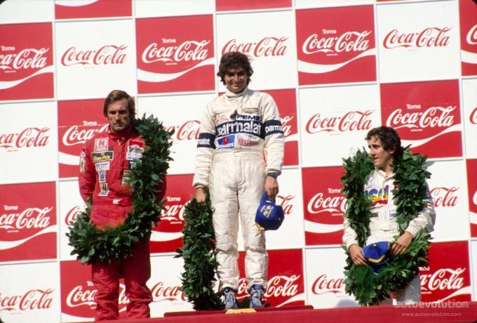 Piquet Reutemann Prost Argentina 1981