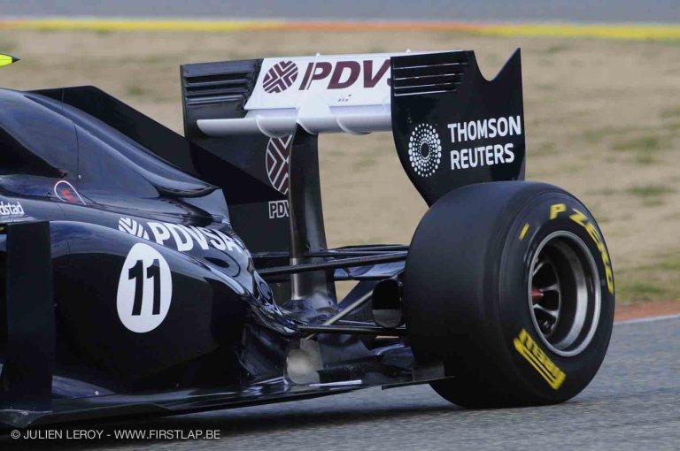 williams rear 2011