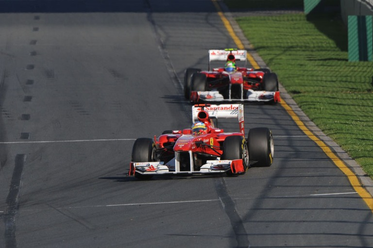 Massa Alonso Gp da Austrália 2011