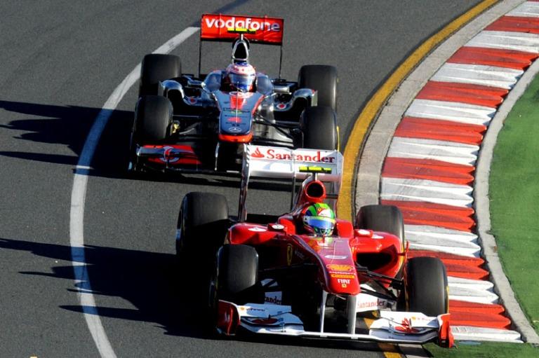 Button Massa GP da Austrália 2011
