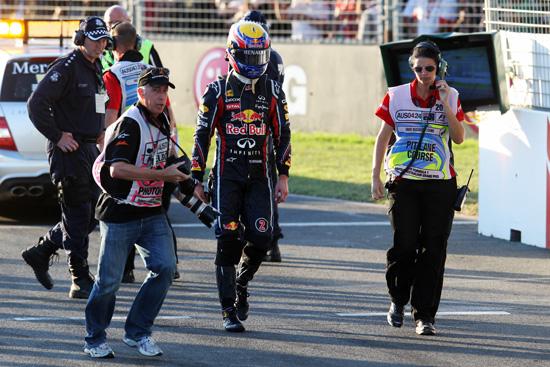 Webber red bull australia 2011
