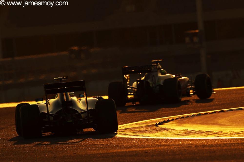 Motor Racing - Formula One Testing - Bahrain Test One - Day 3 - Sakhir, Bahrain