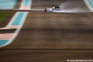 Motor Racing - Formula One World Championship - 2014 Abu Dhabi Grand Prix - Qualifying - Yas Marina Circuit