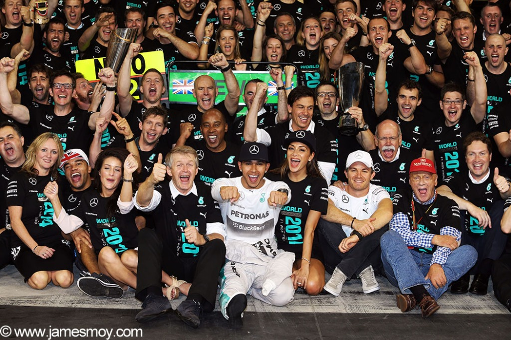 Motor Racing - Formula One World Championship - 2014 Abu Dhabi Grand Prix - Race Day - Yas Marina Circuit
