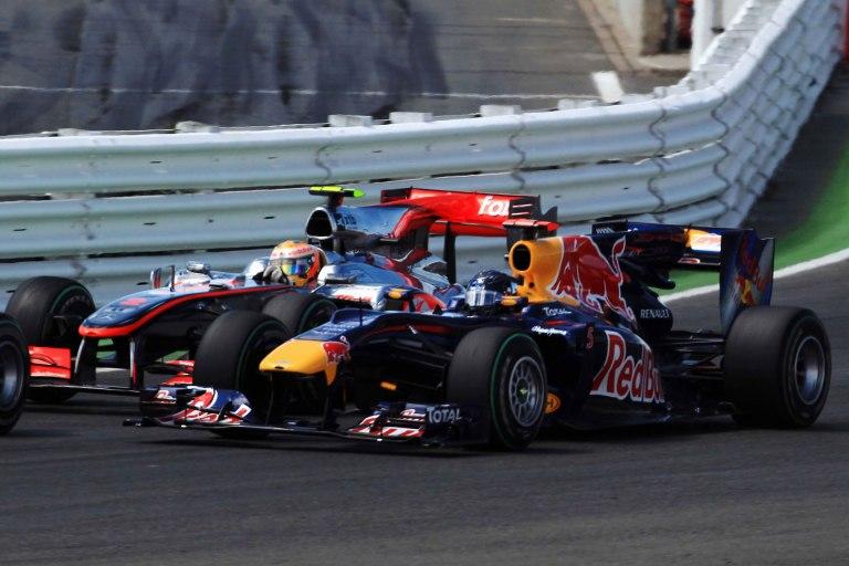 De um passado não muito distante: McLaren e Red Bull lutando por vitórias