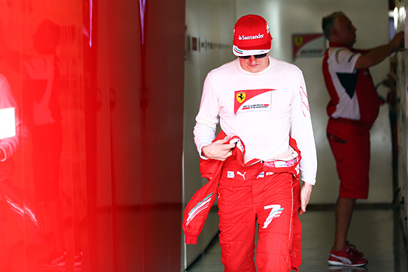Motor Racing - Formula One Testing -  Abu Dhabi Test - Day One - Abu Dhabi, UAE